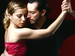 Céline and Damián, dancing so beautifully it makes you cry